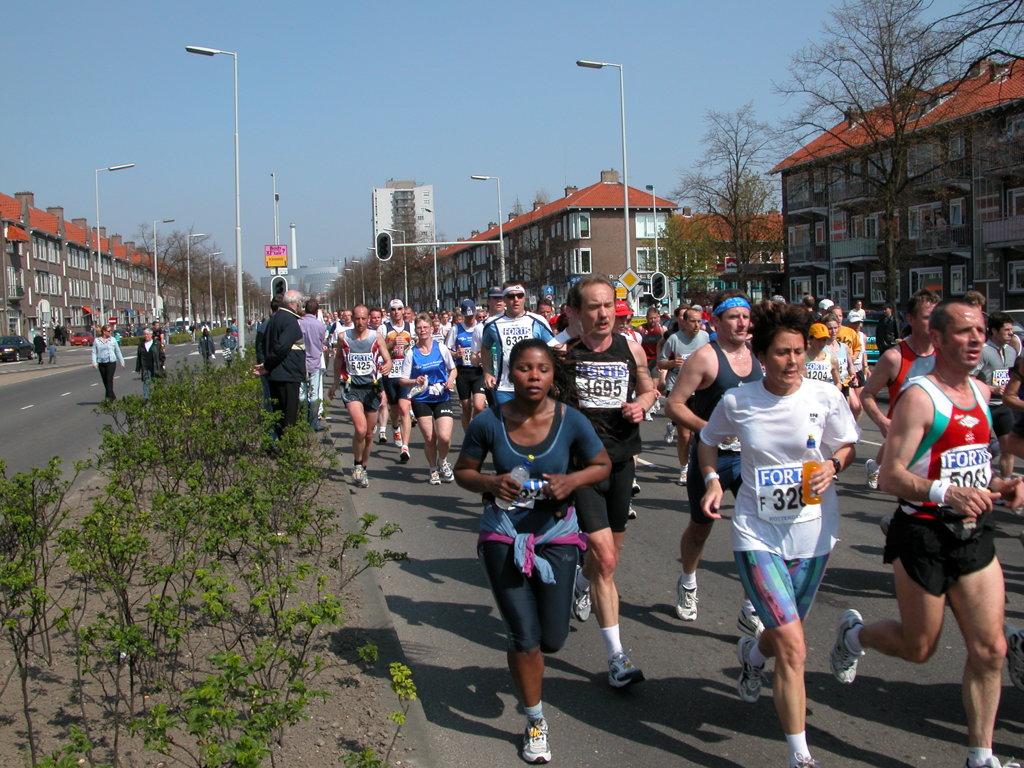 live tracking marathon rotterdam